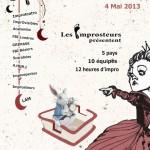 Midi-minuit 2013, festival d'impro