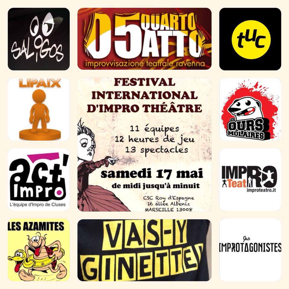 Les équipes invitées du Midi-minuit 2014