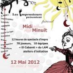 Midi-minuit 2012, l'affiche