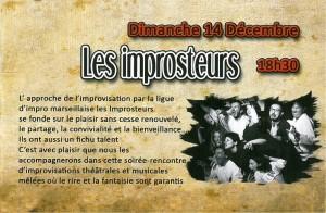 Les Improsteurs au festival Inovendables 2014