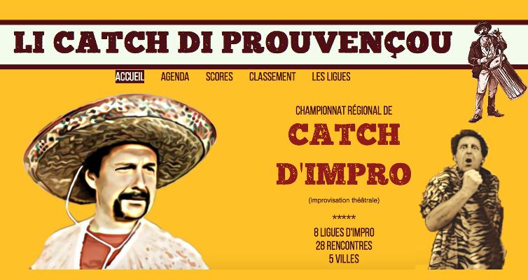 Li catch di Provençou, championnat régional de catch impro