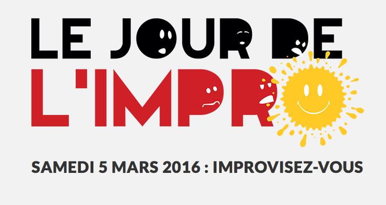 Le jour de l'impro - 5 mars 2016