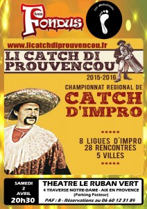 Li Catch di Prouvençou, 2 avril 2016