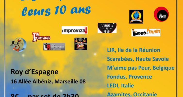 5ème Midi Minuit des Improsteurs, 10 novembre 2019