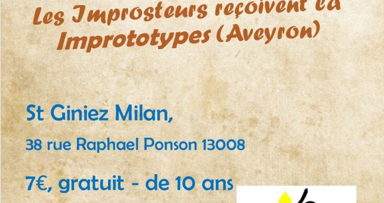 7 mars 2020, Historias Minimas et match avec les Imprototypes d'Onet le chateau