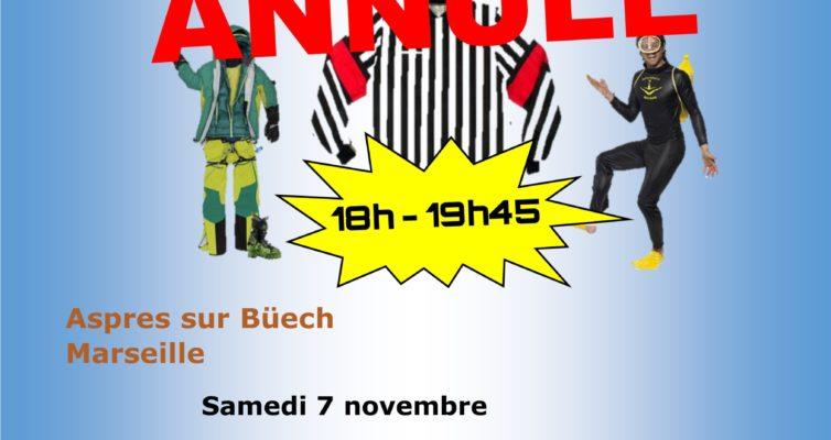 7 novembre 2020, les Improsteurs reçoivent les Ubüechques d'Aspres